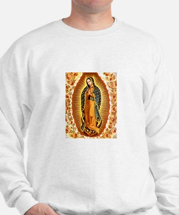 Guadalupe with Roses Sweatshirt