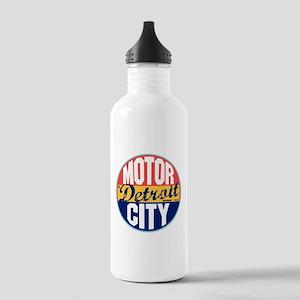 Detroit Vintage Label Stainless Water Bottle 1.0L