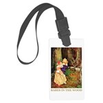 Babes In The Wood Large Luggage Tag