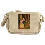Babes In The Wood Messenger Bag