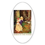 Babes In The Wood Sticker (Oval 50 pk)