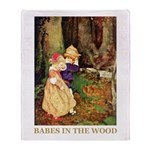 Babes In The Wood Throw Blanket