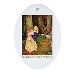 Babes In The Wood Ornament (Oval)