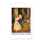 Babes In The Wood 35x21 Wall Decal
