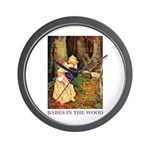 Babes In The Wood Wall Clock