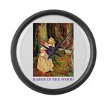 Babes In The Wood Large Wall Clock