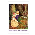 Babes In The Wood Postcards (Package of 8)