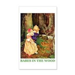 Babes In The Wood 20x12 Wall Decal