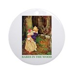 Babes In The Wood Ornament (Round)