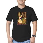 Babes In The Wood Men's Fitted T-Shirt (dark)