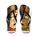 Babes In The Wood Flip Flops