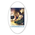 Cinderella Sticker (Oval)