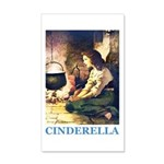 Cinderella 35x21 Wall Decal