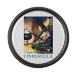 Cinderella Large Wall Clock