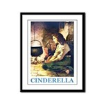 Cinderella Framed Panel Print