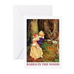 Babes In The Wood Greeting Cards (Pk of 10)
