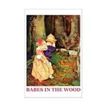 Babes In The Wood Mini Poster Print