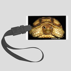 Baby Sulcata Tortoise Large Luggage Tag
