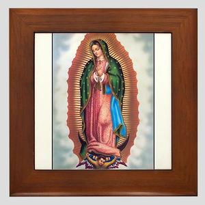 Lady of Guadalupe Framed Tile