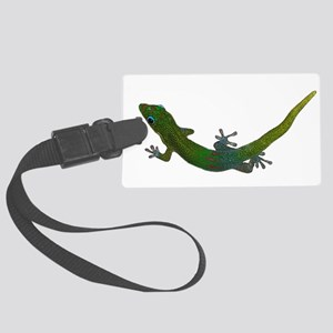 Day Gecko Large Luggage Tag