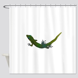 Day Gecko Shower Curtain
