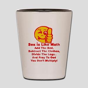 Sex = Math Shot Glass