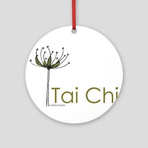"""Tai Chi Growth"" Ornament (Round)"