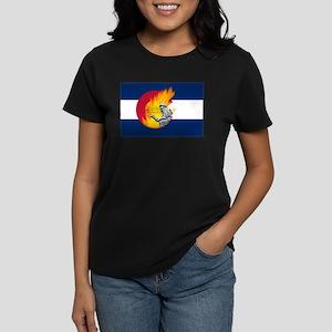 Waldo Canyon Fire, Colorado Women's Dark T-Shirt
