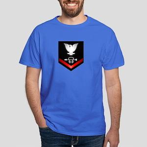 Navy PO3 Sonar Technician Dark T-Shirt