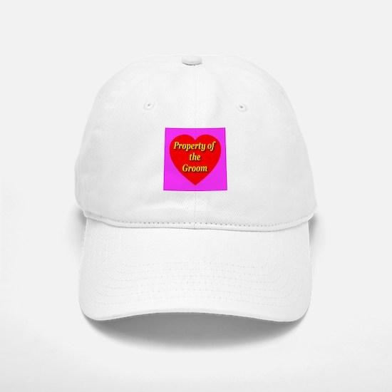 Property of the Groom Baseball Baseball Cap