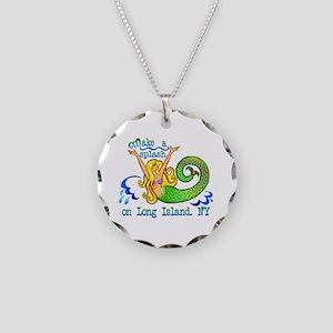 Make a Splash Necklace Circle Charm