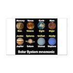 Solar_System_NEWmonic Rectangle Car Magnet