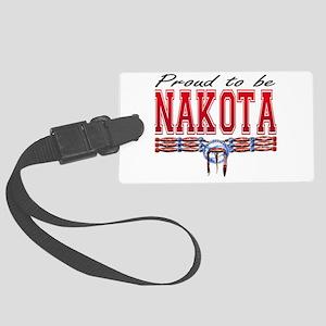Proud-to-be-Nakota-2500x2500 Large Luggage Tag
