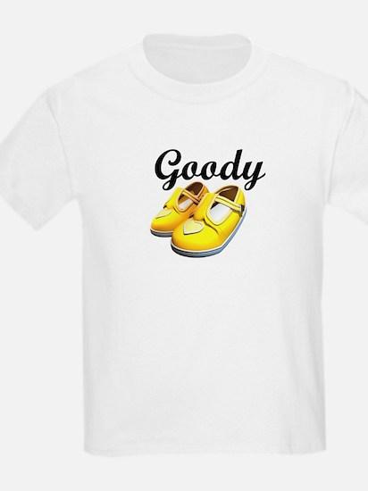 Goody Two-Shoes Yellow Kids T-Shirt