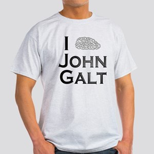 I Know John Galt Light T-Shirt