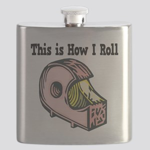 How I Roll Tape Flask