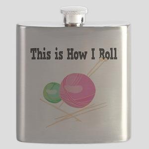How I Roll Yarn Flask