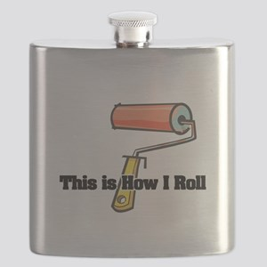 paint roller Flask