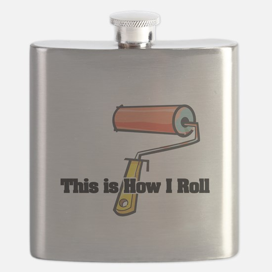 paint roller.png Flask