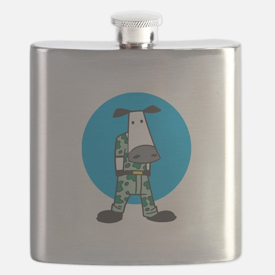 military cow in camo copy.jpg Flask