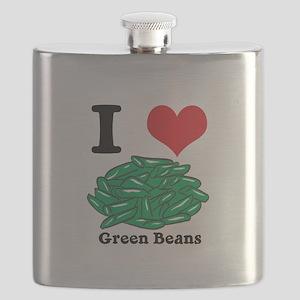 green beans Flask