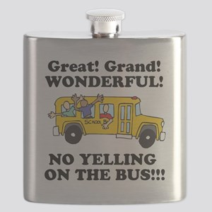 no yellin on the bus Flask