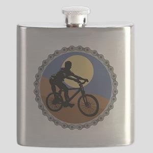 mountain biking chain design copy Flask