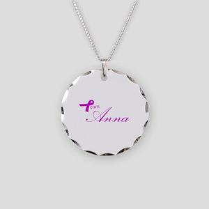 Team Anna Necklace Circle Charm