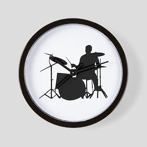 Drummer Wall Clock