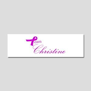 Team Christine Car Magnet 10 x 3