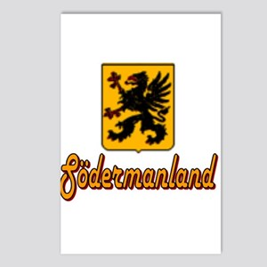Södermanland County Postcards (Package of 8)