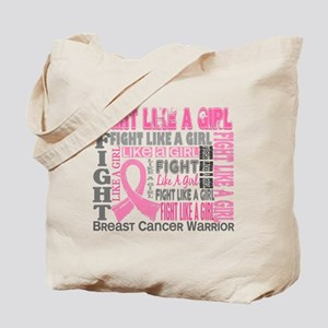 Licensed Fight Like a Girl 44.4 Tote Bag