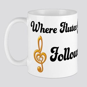 Flutes Go Treble Follows Mug