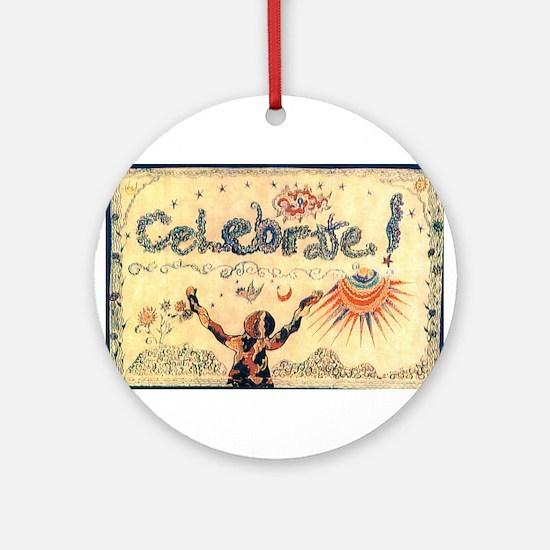 Celebrate! Ornament (Round)